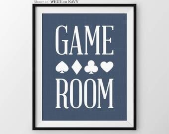 Game Room Sign Game Room Decor Gift For Husband Birthday Gift Home Bar Decor Mancave Wall Art Mancave Sign Bar Decor Game Room Bar