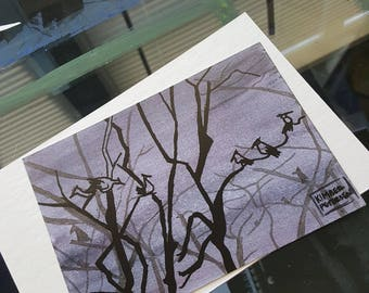 Night Birds Print
