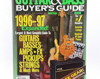 Guitar Player Guitar Buyer's Guide 1996-1997 Magazine Back Issue