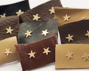Gold Plated Star Studs