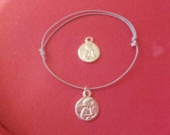 """my Angel"" bracelet .for represent children..... worn 3 to 100 years old!"