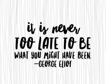 Quote magnet- George Eliot