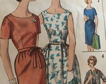 Perfect Vintage Wardrobe Pattern--Simplicity 4298---Size 14  Bust 34