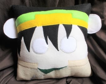 Toph Beifong, Avatar the Last Airbender inspired pillow