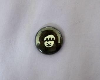 "Princess of Darkness 1"" Pinback Button (1)"