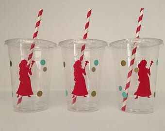 Elena of Avalor party cups, Elena Party Cups, Avalor Party Cups, Princess Party Cups, Elena of Avalor Birthday Party favor