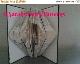 Summer Sale Weightlifter - Book Folding Pattern