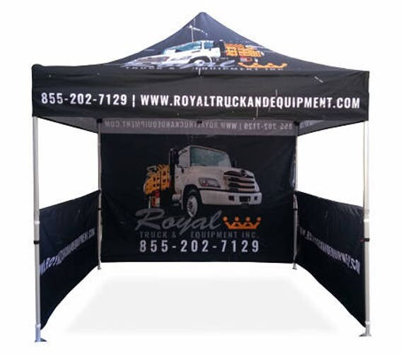 Like this item?  sc 1 st  Etsy & Custom Printed Canopy Tent Craft Fair Tent Custom Logo Tent