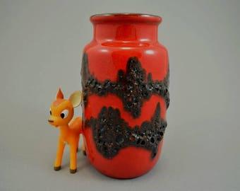 Vintage vase / Scheurich / 231 15 / Fat Lava | West Germany | WGP | 60s
