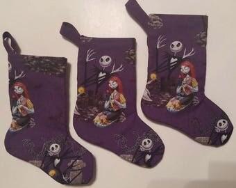 Nightmare Before Christmas mini stocking set of 3