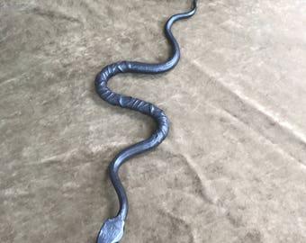 Repurposed Rebar Snake
