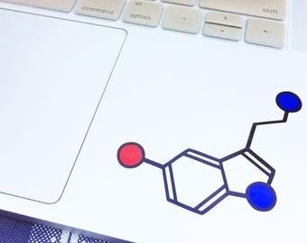 Serotonin - Luminous Molecule Decal