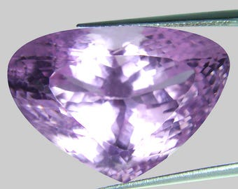 51.62 Ct Fancy shape Natural Soft Pink Kunzite from Afghanistan