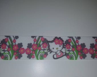 Ribbon hello kitty 25mm sold per meter