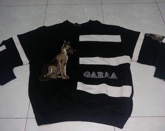 Vintage Garaa german sherpard Big logo sweatshirt size L pull over