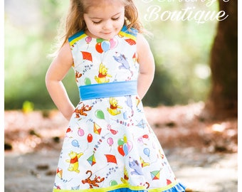 Winnie the Pooh party dress