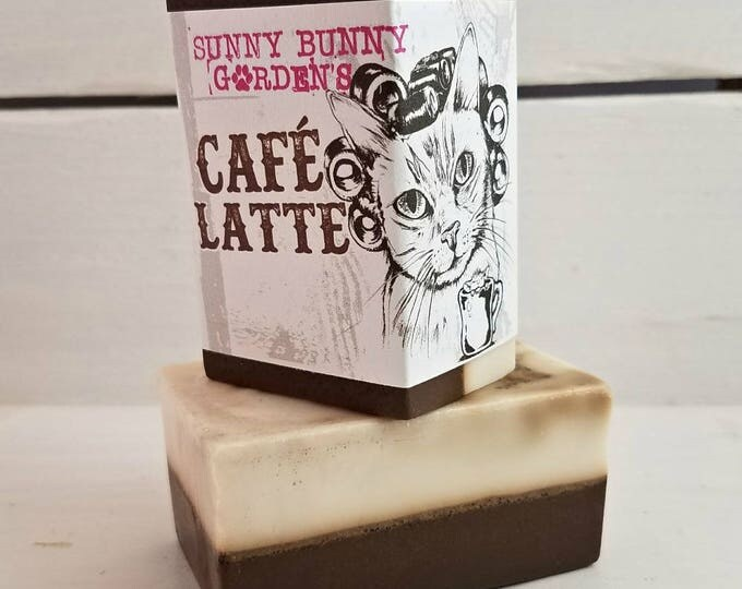 Cafe Latte Soap Bar, Coffee Soap Bar, Organic Coffee Soap, Espresso Soap, Wake Up Soap, Chocolate Coffee Soap, Soap That Looks Like Coffee