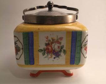 Vintage biscuit barrel