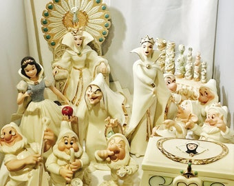 Disney Lenox Snow White 13 Piece Set Collection