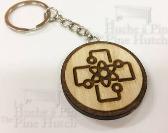 Key ring inspired by the The Orville series: The Medical Patch