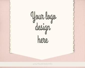 logo maqueta, fotografía de estilo logotipo acción de escritorio, tarjeta,marca logotipo, logo escena Mock up,diseño de logo,maqueta logo