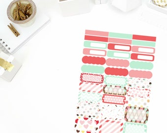 Cupcake Kisses Functional Stickers! Perfect for your Erin Condren Life Planner, calendar, Paper Plum, Filofax!