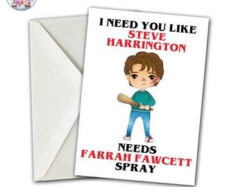 Stranger Valentine's Card, Stranger Card, Strange Valentine, Strange Card