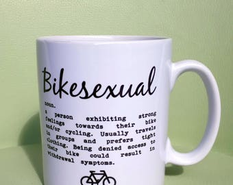 Cycling Mug - Bikesexual