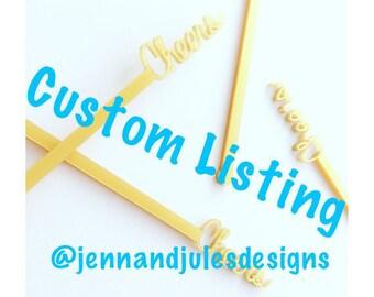 Custom Sign: Reserved