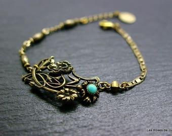 Bracelet art nouveau Honorine