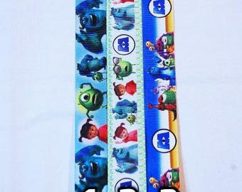 Choice of Monsters Inc University Lanyard