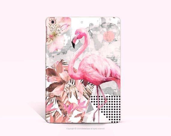 iPad Pro 9.7 Case Flaingo Clear iPad Air 2 Soft Case iPad Mini 4 Case Clear iPad Case Cute iPad Cover Clear Floral iPad Mini 2 Case
