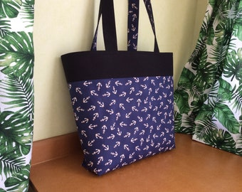 DARK & STORMY ANCHORS tote