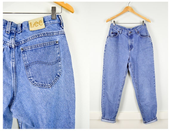 90s Lee Jeans, Vintage Clothing, Mom Jeans 30, 90s Clothing, 90s Jeans, High Waisted Jeans, 90s Clothes, Vintage Clothes, Grunge Jeans
