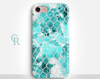 Mermaid iPhone 6 Case For iPhone 8 iPhone 8 Plus - iPhone X - iPhone 7 Plus - iPhone 6 - iPhone 6S - iPhone SE - Samsung S8 - iPhone 5