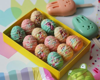 Funfetti Easter Eggs