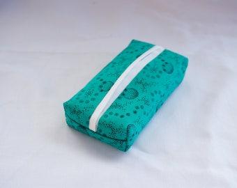 Fabric Tissue Holder – Travel size, pocket tissue 100% cotton