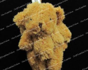 Mini bear Microfiber caramel 45mm