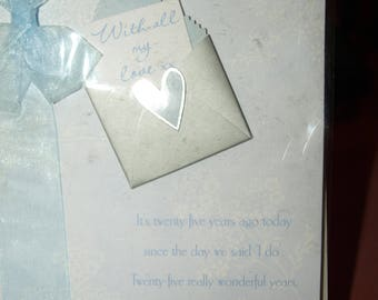 My Darling WIfe on Our Silver Anniversary Card
