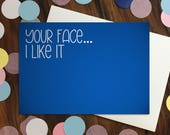 Love card - 'Your fac...
