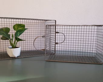 Set of 2 Wire Baskets