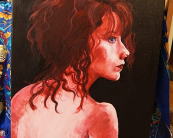 Miss Pamela Painting
