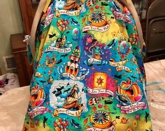 "Handmade ""Disney"" Baby Car Seat Cover/Canopy!!"