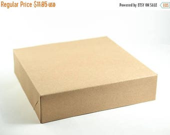 ON SALE Gift Boxes with Lids, 10 Kraft Boxes, Party Favor Boxes, Gift Boxes, Bridesmaid Boxes, Paper Boxes, Groomsmen Boxes, Brown Boxes 8.5