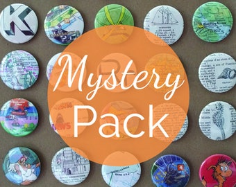 NEW! Mystery Packs - Button or Magnet sets