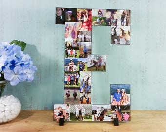 Custom Photo Collage Letter, Custom Photo Display, Personal Photo Collage, Letters, Personal Collage, Photo Collage, Custom Photo Letters