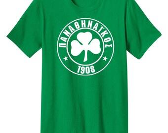 Panathinaikos FC Athens Greece T Shirt Football Soccer To Trifylli Dimitris Saravakos Ferenc Puskas