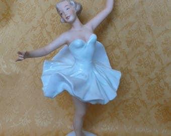 Porcelain figurine Germany porcelain WEIMAR Porcelain figurine ballet dancer