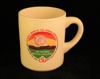 Vintage Boy Scouts of America 1979 Mug