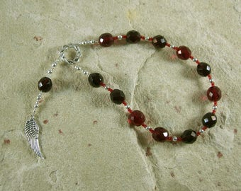 Bia Pocket Prayer Beads: Greek Goddess of Force and Might